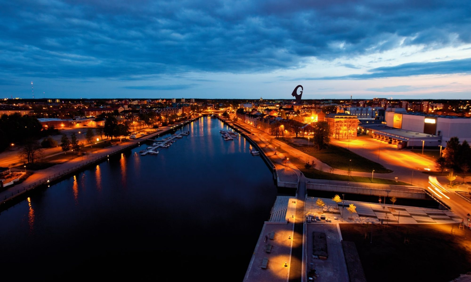 Det goda livet i Gävle 2030 - inom ramen för ett jordklot